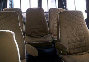 Landcruiser seating arrangement
