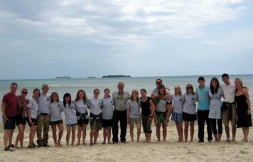 Group on Zanzibar Beach