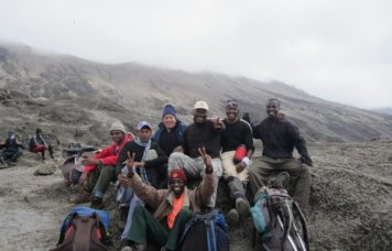 Group Trek on Kilimanjaro