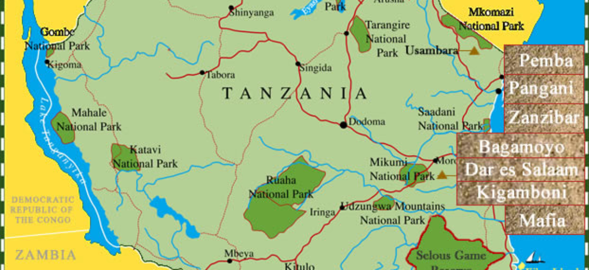 tanzania-beaches-map