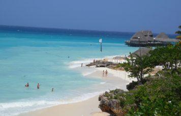 Beautiful day at Zanzibar Beach