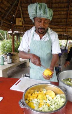 Mecky camp chef at RA Safaris