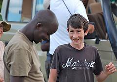 Moses Gabriel tour guide at RA Safaris.