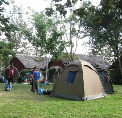 Basic camp tent for RA Safaris