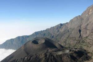 Crater of Mount Meru