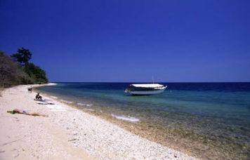 Boat on Lake Tanganyika